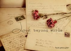 Love Beyond Words - Love Letters Between My Parents by Sparrow Girl ...