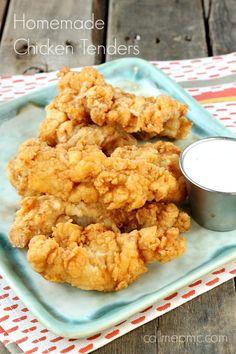 Homemade Fried Chicken Tenders