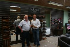 We were delighted to welcome Ex-Ulster Rugby David Humphreys in yesterday for a fitting. David is now the owner of a pair of Barker Longworth in Cedar Calf.  http://www.robinsonsshoes.com/barker-longworth.html