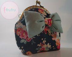 Coin purse / Clasp purse / Fabric purse / Tilda FabricFrame purse / Bow purse -    Edit Listing  - Etsy