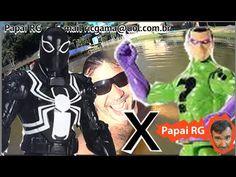 Agente Venom Flash Thompson Marvel X Charada Riddler Hotel Fazenda Arvor...