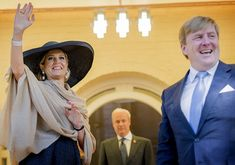Last day of the state visit, King Willem-Alexander and Queen Maxima of The Netherlands attend a meeting with the Dutch community at the Kelliher Estate, and the trace lunch at the Hilton Hotel in Auckland. Dutch Royals visited the Auckland Art Gallery, and the Spirit of New Zealand Youth Training Vessel at Princes Wharf in Auckland, New Zealand, 9 November 2016.