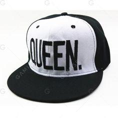 5979b697b3454 Baseball Cap KING Men s Hat Spring Autumn QUEEN King Queen Female  Embroidery Couple Hip Hop Cap