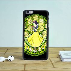 Snow White Stained Glass iPhone 6S Plus Case