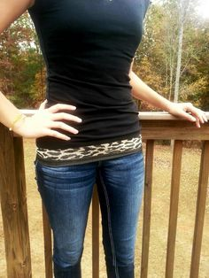 FANNY PACKS! Unlike any others... they wrap comfortably around your waist and hold your personal items snuggly against your hips or waist. They are so comfortable and so practical.