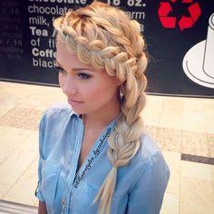 Braided Hairstyles for Long Hair and Medium Hair (38)