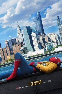 Homem-Aranha: De Volta ao Lar - Liberado o primeiro pôster oficial do filme! - Legião dos Heróis