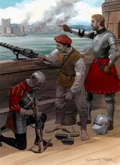 Aboard the Michael at Carrickfergus, 1513 • Crossbowman  • Seaman  • James Hamilton, Earl of Arran