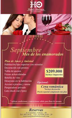Amor Y Amistad - Hotel Obelisco #Cali #ValledelCauca #Colombia Sauna, Cali, Movie Posters, Amor, Romantic Dinners, Obelisks, Discos, Wine Bottles, Friendship