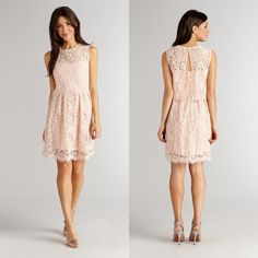 Your date will swoon this Valentine's Day when he sees you in our lace Trisha dress!