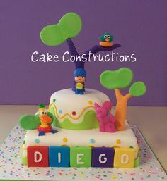 pocoyo cake idea