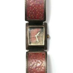 Watchcraft | Red Metal Timepiece | Altered Space Gallery