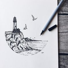Fabulous Drawing On Creativity Ideas. Captivating Drawing On Creativity Ideas. Dotted Drawings, Cool Art Drawings, Pencil Art Drawings, Tattoo Drawings, Art Sketches, Stippling Art, Drawn Art, Ink Illustrations, Illustration Art