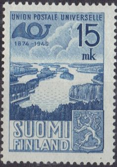 on stamps finland suomi