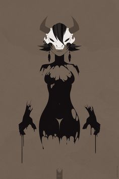 skullGirl by STENKAT , via Behance