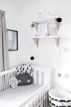 10 nursery di stile scandinavo