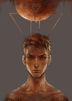 tumblr || drawcrowd || artstation || behance || facebook simple work to commemorate yesterday's exciting events: - blood as the essence of life for supermoon eclipse - water as the essenc...