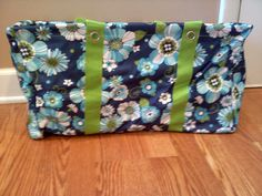 Large Utility Tote - Floral Celebration - my first 31 purchase.. love love love love!