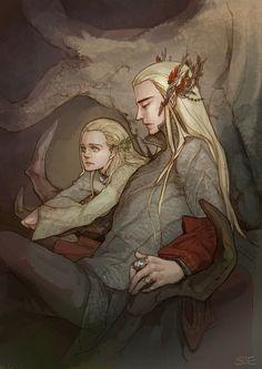 Thranduil & Legolas