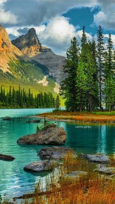The post AB: Spirit Island Jasper National Park Alberta British Columbia Canada. Beautiful Nature Pictures, Beautiful Nature Wallpaper, Amazing Nature, Nature Photos, Beautiful Landscapes, Beautiful Places, Nature Nature, Beautiful Scenery, Natural Scenery