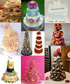 Moody Monday - Funky Wedding Cakes - The Wedding Community Blog