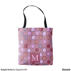 Simply Dotty tote bag.