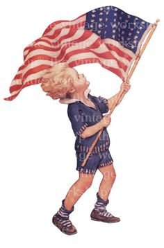 flag day vintage - Google Search