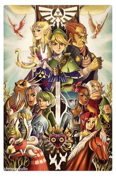 The Legend of Zelda series is legendary its self. #Zelda #Nintendo