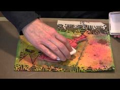 Dylusions Stamps - Masking Techniques and More! - YouTube ... Some excellent techniques especially for newer scampers