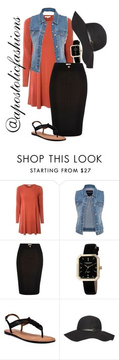 """Apostolic Fashions #1405"" by apostolicfashions on Polyvore featuring Glamorous, maurices, River Island, Akribos XXIV, Corso Como and Dorothy Perkins"