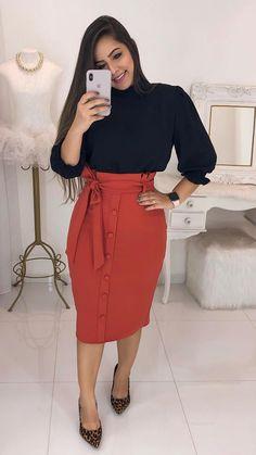 Women S Fashion Jewelry Cheap Trend Fashion, Moda Fashion, Girl Fashion, Fashion Dresses, Fashion Looks, Fashion Design, Church Fashion, Modest Wear, Church Outfits