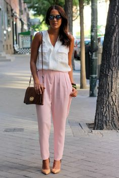 #streetstyle  #fashion #pink #soft #pastels