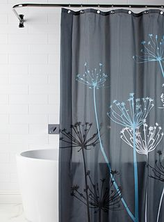 Shop Fabric Shower Curtains Online in Canada | Simons