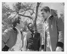 "Fred Crane, George Reeves, and Ben Carter for ""Gone With the Wind"" 1939"