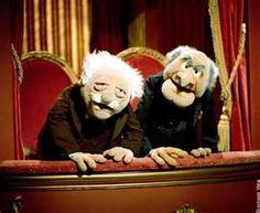 Statler & Waldorf (THE MUPPET SHOW)