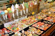 fake food in Tokyo