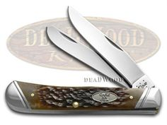 CASE XX Jigged Brown Bone Trapper Stainless Pocket Knife - CA27111 | 27111 - 021205271118