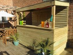 My Home Made Outdoor Bar