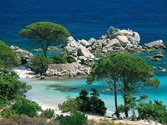 Corse du sud plage de palombaggia guide touristique                                                                                                                                                                                 Plus