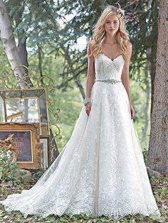 Luna Wedding Dress by Maggie Sottero   alt 1