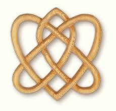 Celtic Symbol for 2 souls bonded in eternal love.