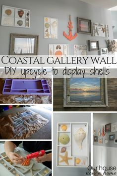 DIY coastal gallery