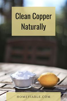 There are a lot of natural materials that can clean your precious copper pieces. Check out this article and keep your copper pots good as new! #homeviable #naturalcleaning #copperpieces #cleaningDIY All Natural Cleaning Products, Diy Cleaning Products, Cleaning Hacks, Kitchen Cleaning, House Cleaning Tips, Tamarind Fruit, Lemon Juice Uses, How To Clean Copper, Copper Utensils