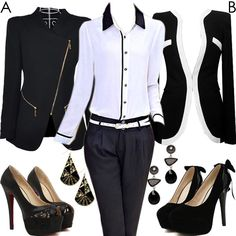 Long Sleeve Blended Blazers with Autumn Spring Party Street Peep-Toe Heel #999723 - I'm Addicted To You Find More: http://www.imaddictedtoyou.com/