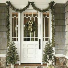 Front door/sidelights design