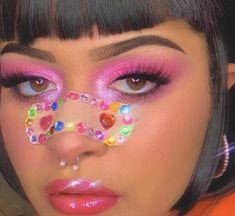 Edgy Makeup, Cute Makeup, Pretty Makeup, Makeup Inspo, Makeup Art, Beauty Makeup, Hair Makeup, Aesthetic Indie, Aesthetic Makeup