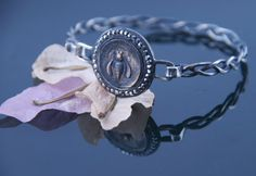 Ancient Coin Bracelet  Ephesus Bee  Sterling by CoinJewelrySilver