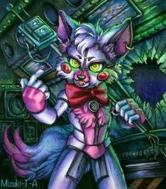 Lil Funtime Foxy / FNaF SL by Mizuki-T-A