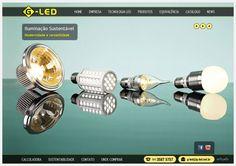 Conheça o site da G-Led (www.g-led.net.br), uma empresa especializada em iluminação que utiliza a mais moderna tecnologia Led High Power, abrindo um mundo de oportunidades para personalizar ambientes, desenvolver projetos inovadores e melhorar a qualidade de vida.