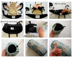 Baby Carrier Stuff Sack - ORGANIC & ECHINO - Fits the Ergo, Beco, Boba, TULA and More.